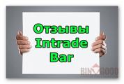 Intrade bar — реальные отзывы 2019 года