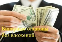 Бинарные опционы без вложений на реальные деньги – как и где?